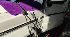 奔驰g级amg,G63高位刹车灯不亮线路没有电这车的灯光保险盒在哪里