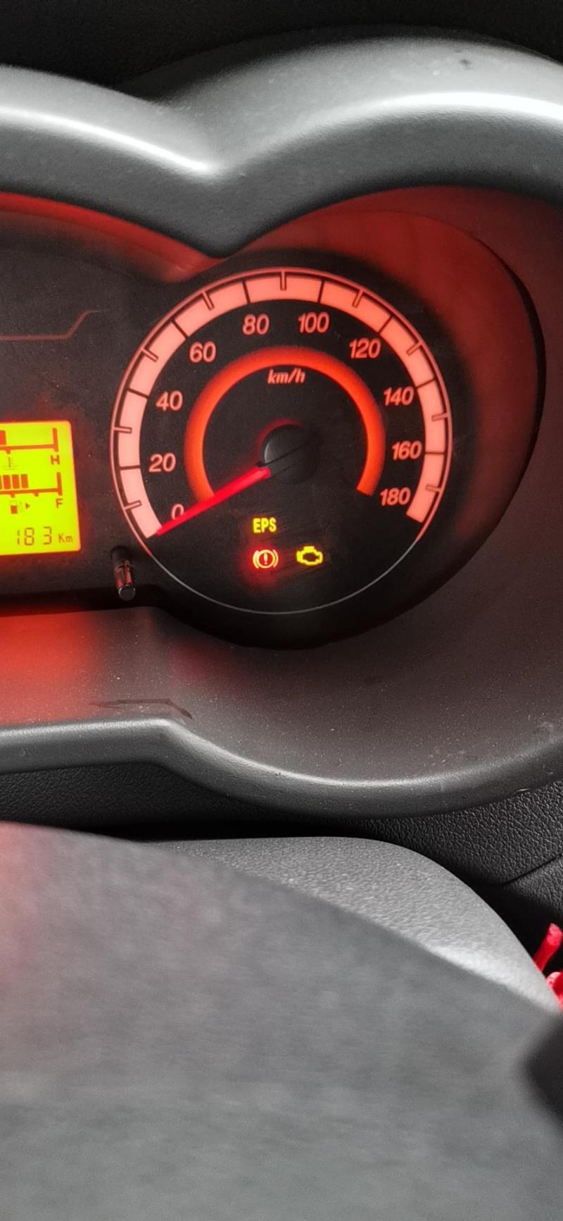 长安星卡国六箱车,刚开四天发动机故障灯一直亮着怎么回事