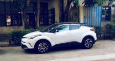 丰田c-hr,广州地区有订20款领先版白色黑色顶的吗,优惠多少,总共落地多少